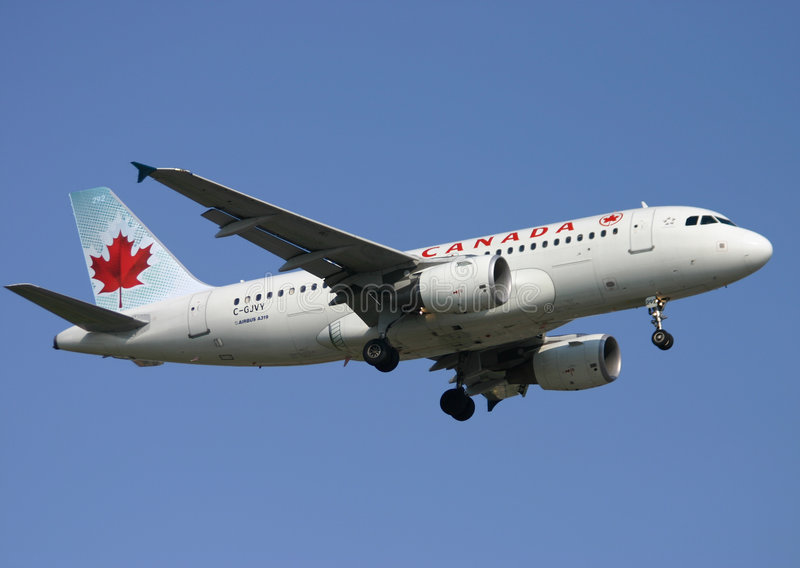 Download Air Canada Airbus A319 editorial stock photo. Image of tires - 7693923