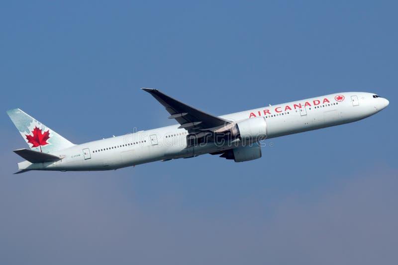 Air Canada Boeing 777-300 obrazy royalty free