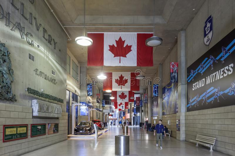 Air Canada centrent, Toronto images libres de droits