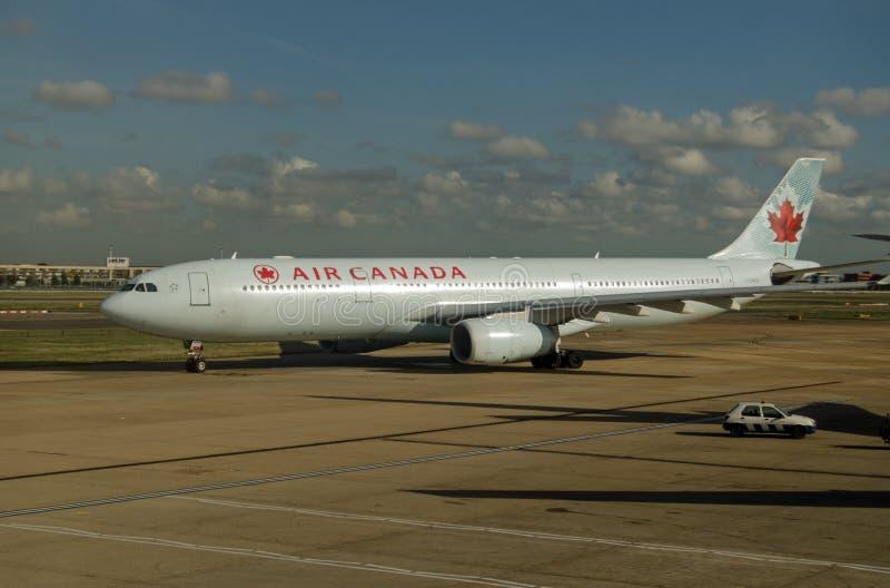 Air Canada flygbuss, Heathrow fotografering för bildbyråer