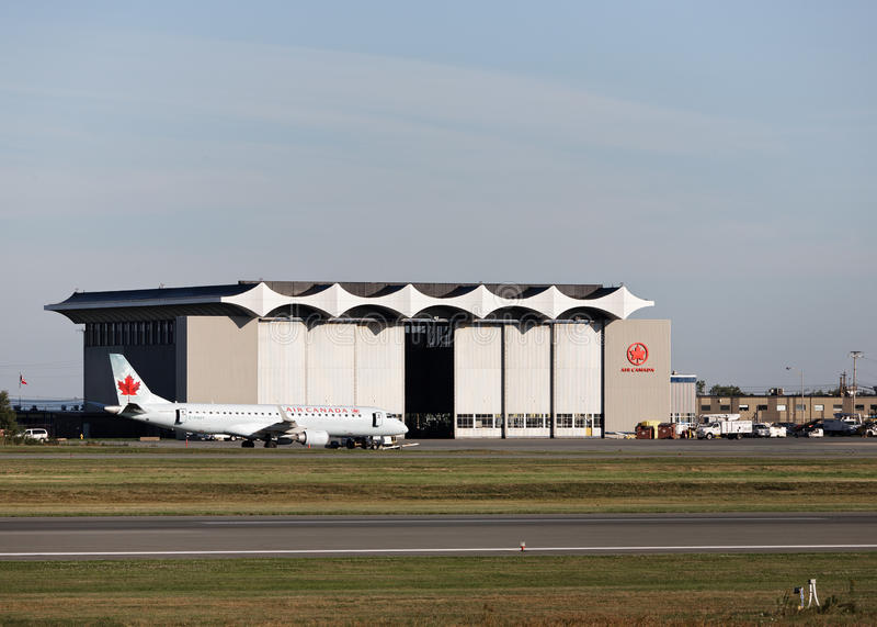 Air Canada wieszak obrazy stock