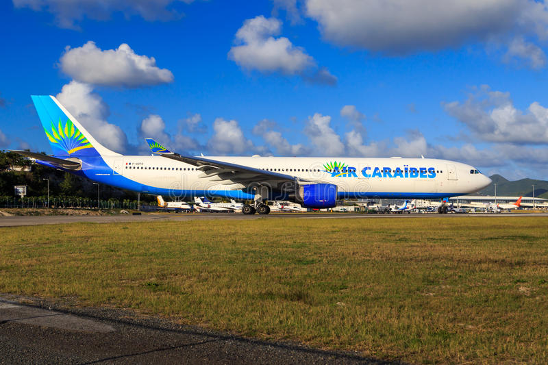 Air Caraibes A330 stock photography