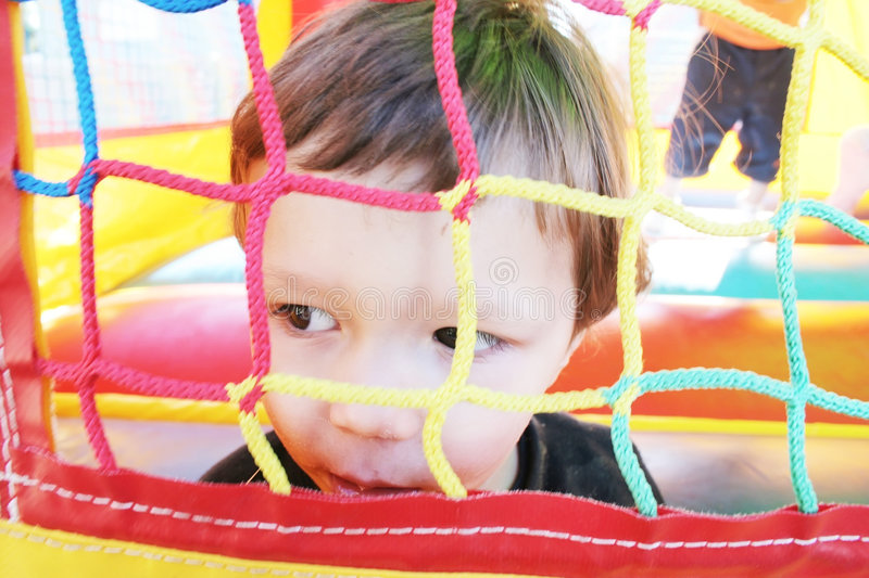 Download Air Castle stock image. Image of blow, bounce, children - 4325797