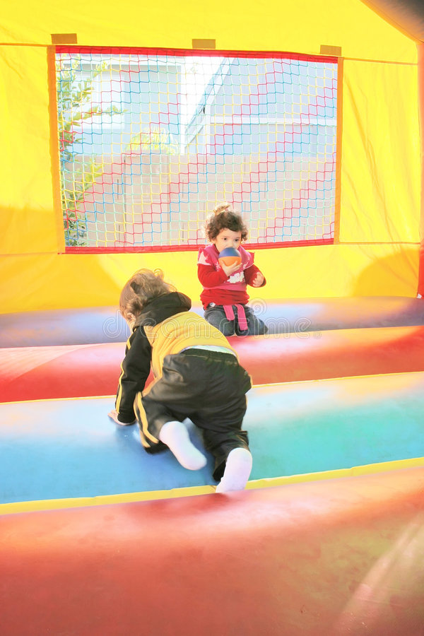 Download Air Castle stock photo. Image of bounce, equipment, birthday - 4325804