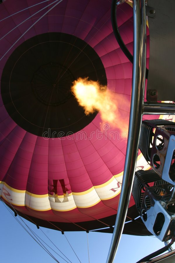 Air chaud photographie stock