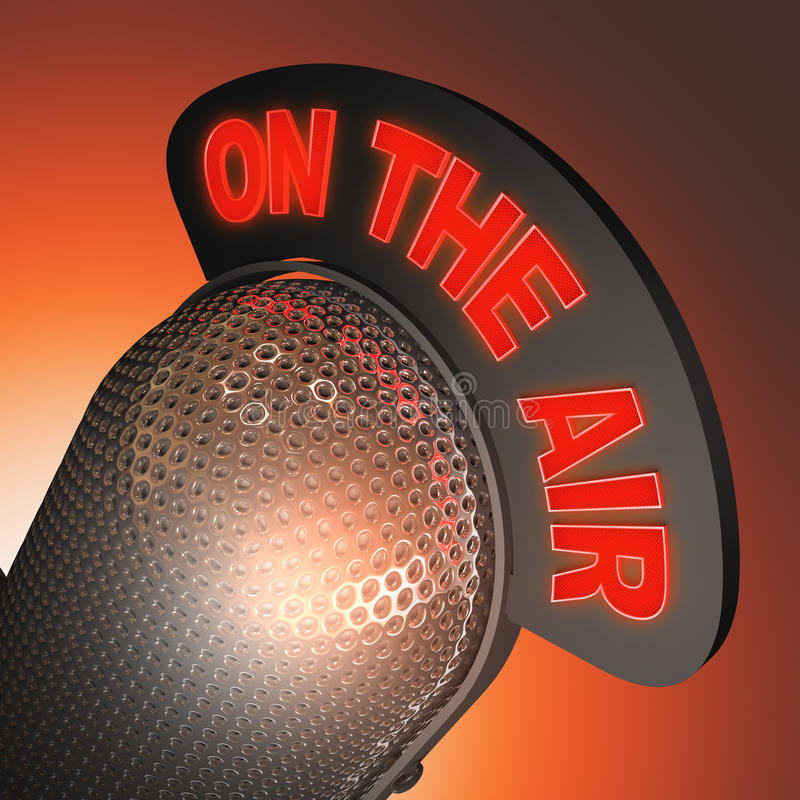 Download On The Air stock photo. Image of stand, speak, jazz, broadcast - 32211580