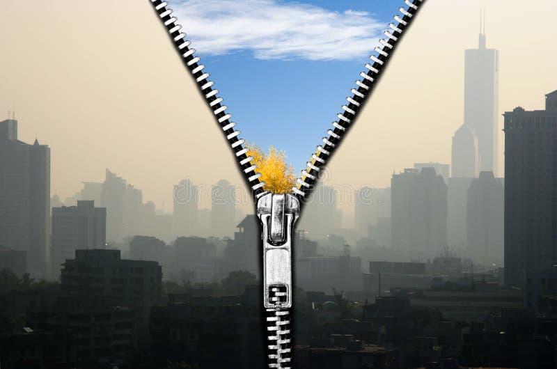 air clean arkivfoto