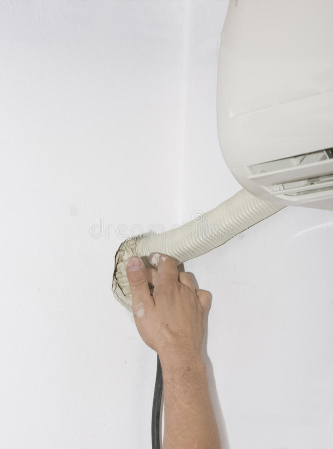 Air condition stock image