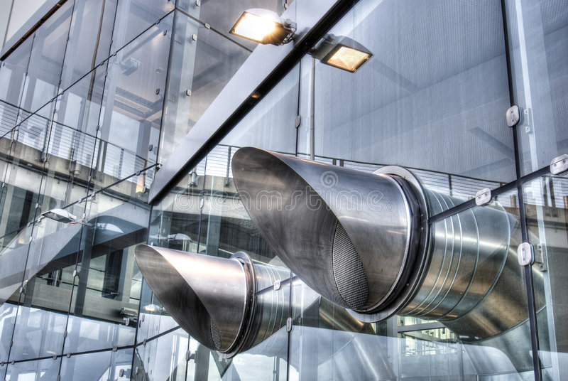 Download Air condition stock image. Image of tube, building, cylinder - 6855917