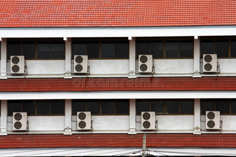 Download Air-conditioner stock image. Image of orderly, construction - 14362479