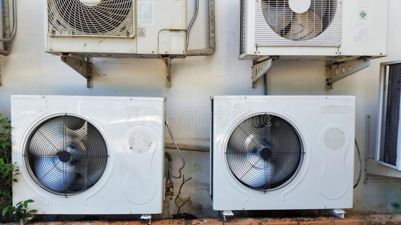 Air conditioner machine royalty free stock images