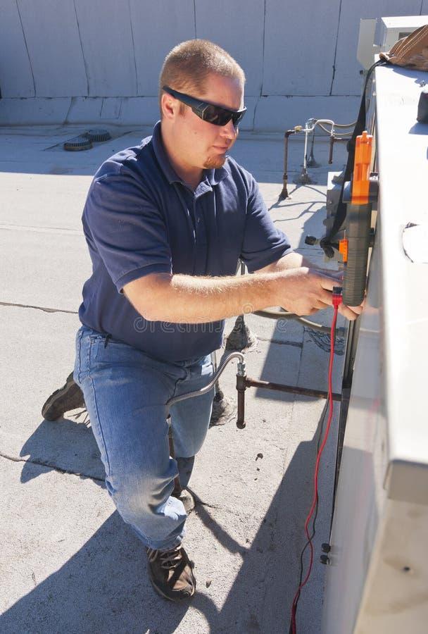 Air Conditioner Repair royalty free stock image