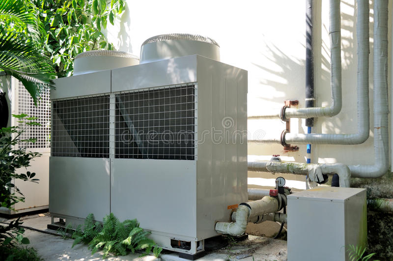Download Air Conditioner Unit stock image. Image of grid, cold - 26573185
