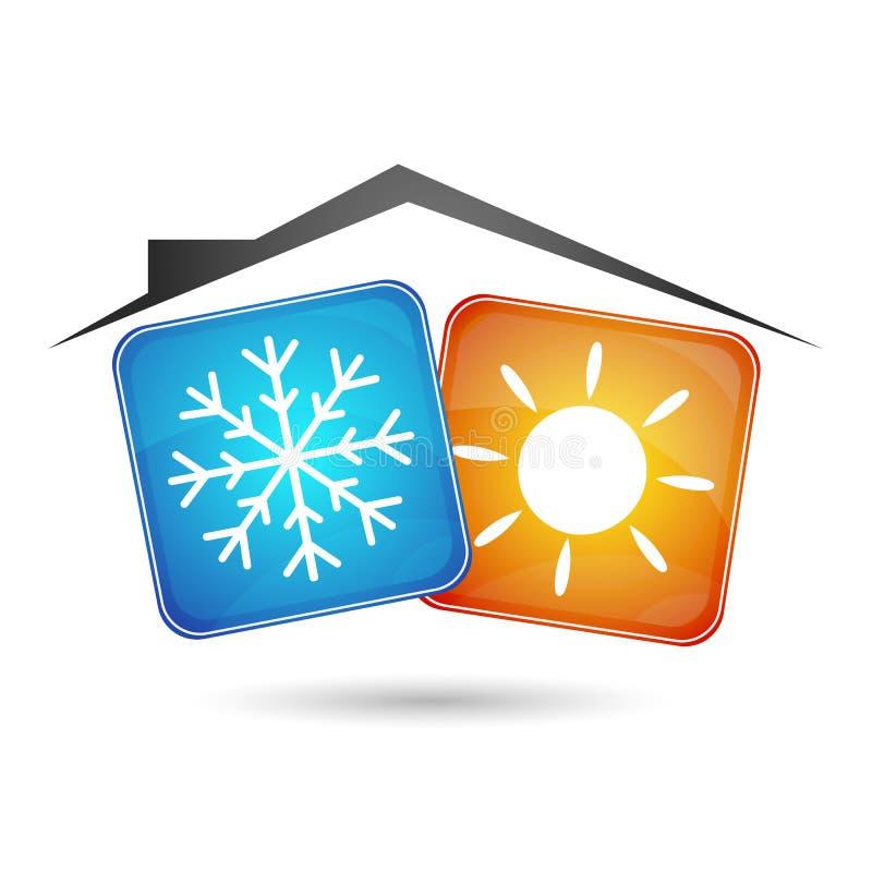 Air conditioning stock illustration
