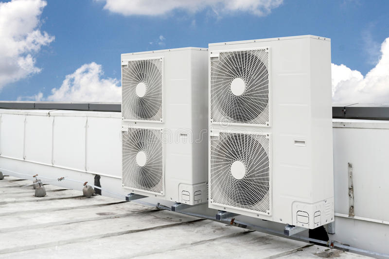 Download Air conditioning stock illustration. Illustration of exterior - 68995071