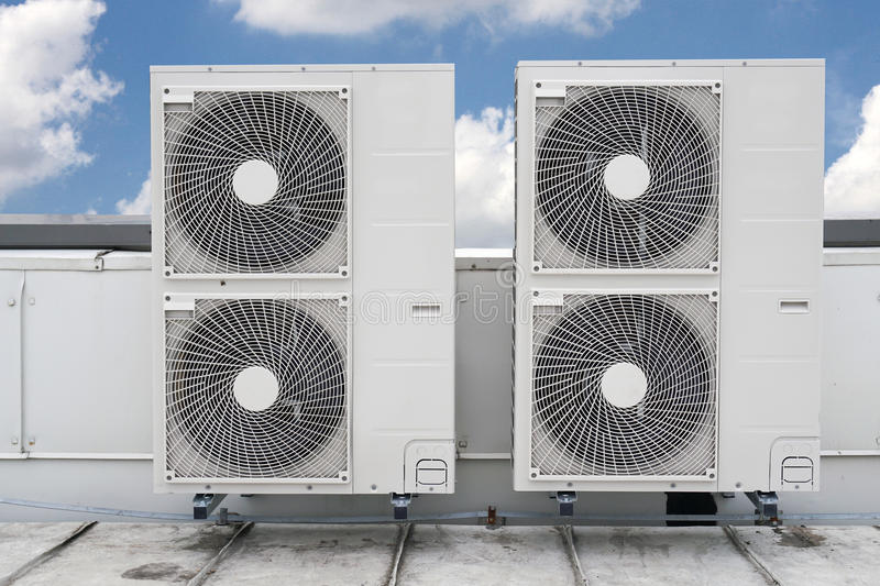 Download Air conditioning stock illustration. Illustration of residential - 68995146