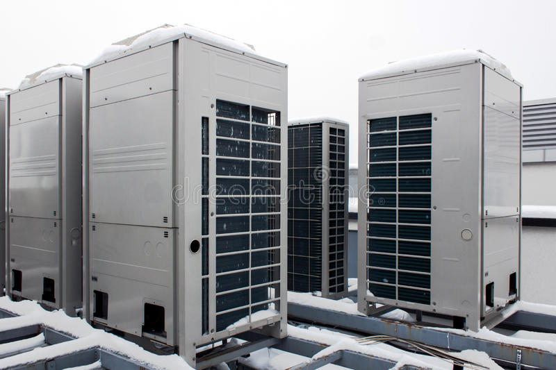 Download Air conditioning system stock image. Image of metal, cold - 45715763