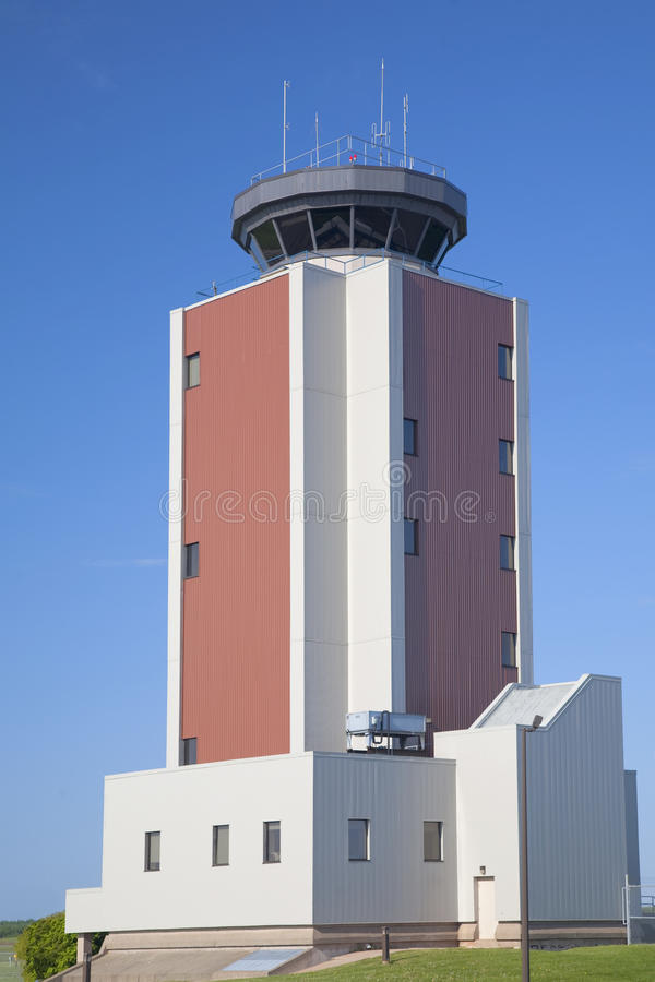 Air Control Tower royalty free stock image