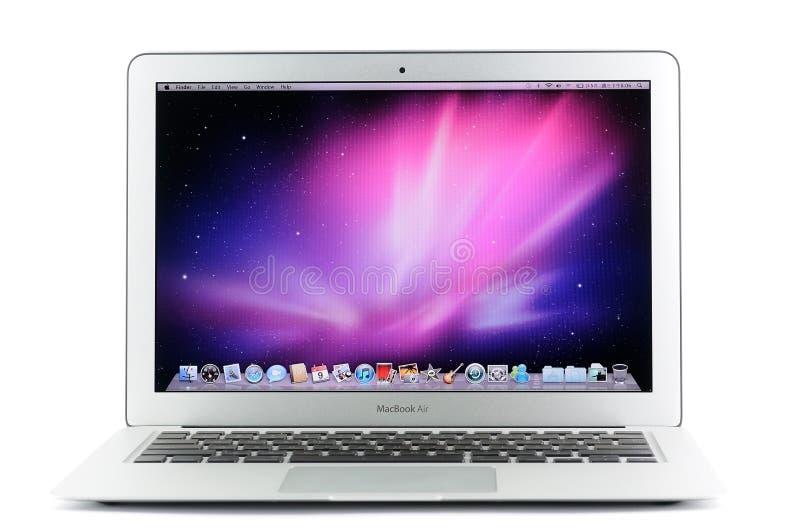 air de MacBook de 13 pouces images stock