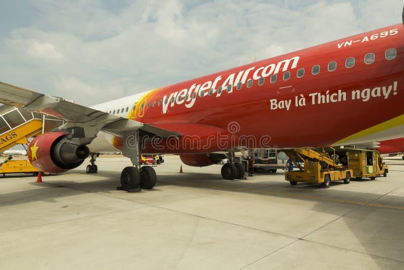 Air de VietJet photo stock