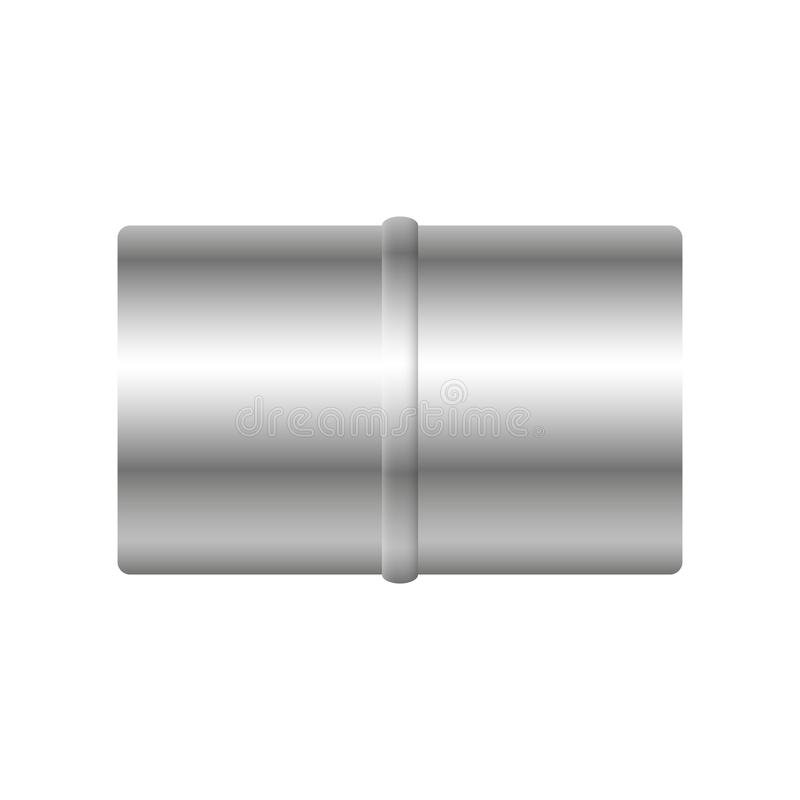Air duct pipe. Air duct vector design isolated on white background vector illustration