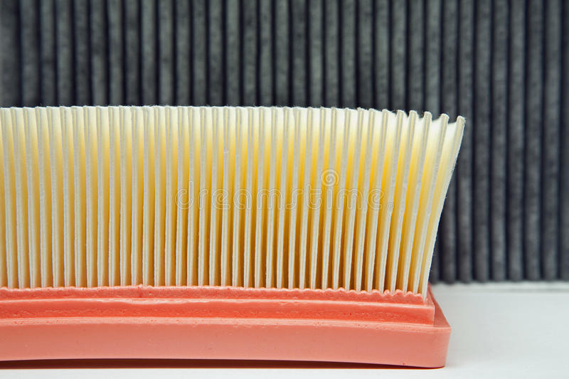 Download Air Filter And The Cabin Filter Stock Photo - Image: 19210698