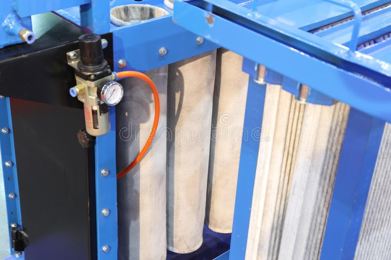 air filter for dust collector system ; stock image