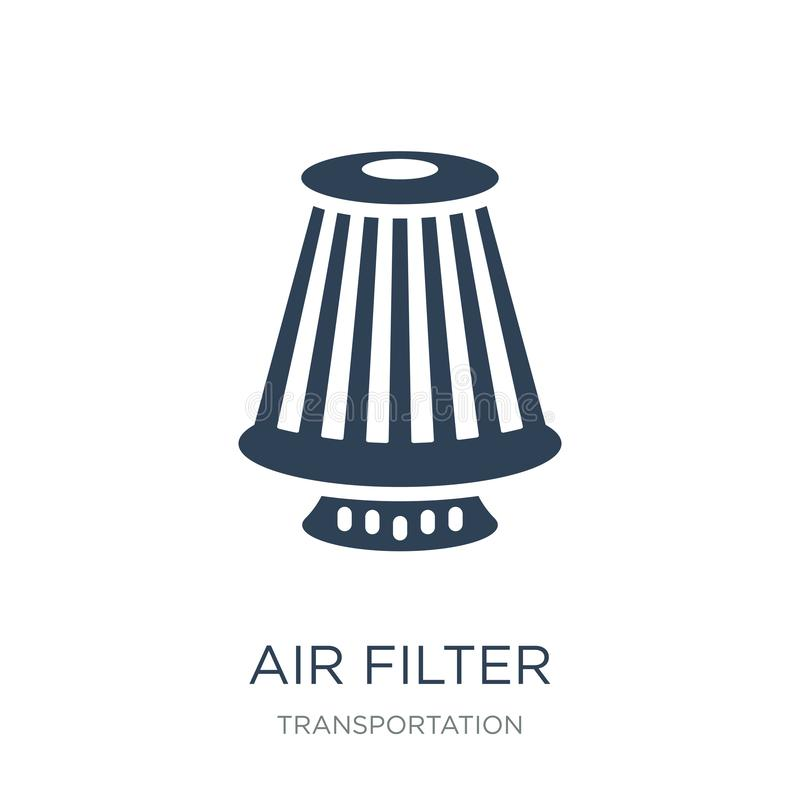 air filter icon in trendy design style. air filter icon isolated on white background. air filter vector icon simple and modern vector illustration