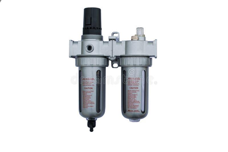 Air filter regulator royalty free stock image