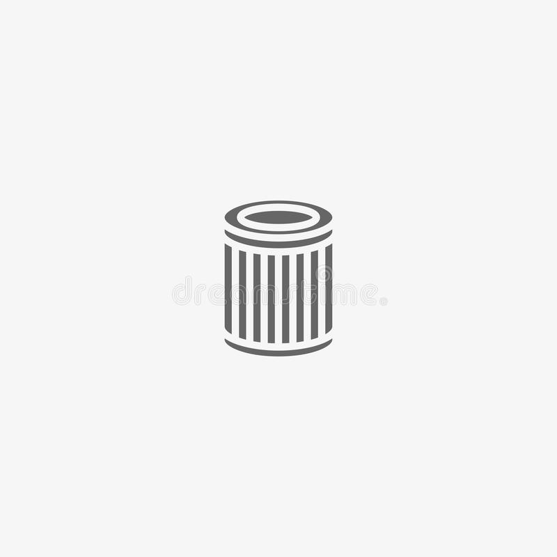 Air filter vector icon vector illustration