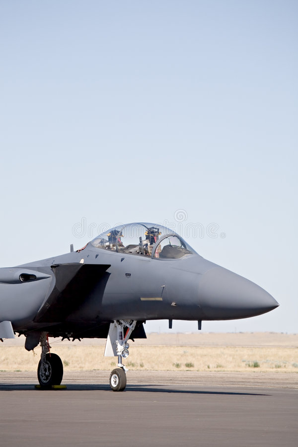 Air force - F15 stock image