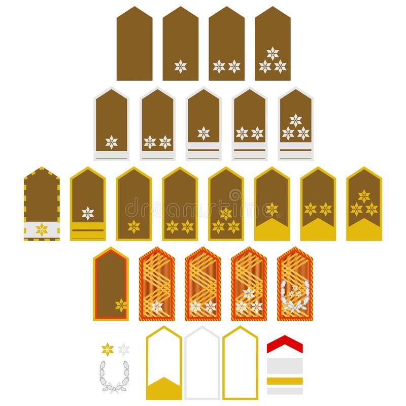 Download Air Force insignia Austria stock vector. Image of drawing - 41886695