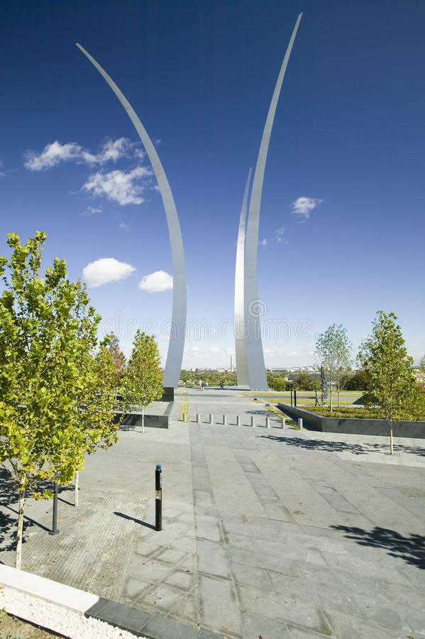 Download Air Force Memorial stock image. Image of drive, national - 26891921