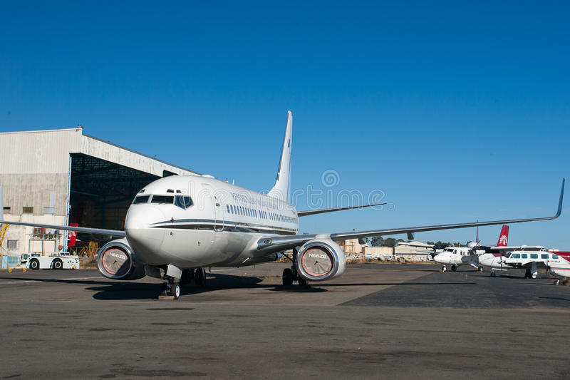 Air Force One 2 foto de archivo