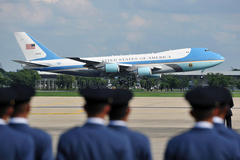 Download Air Force One editorial photography. Image of east, america - 27838307