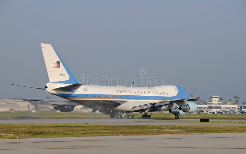 Download Air Force One image stock éditorial. Image du force, pour - 8653624