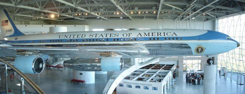 Air Force One, arrière 27000 photos libres de droits