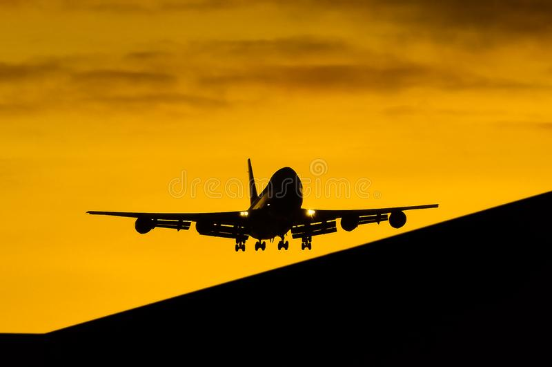 Air Force One B747. A B747-8 arrived in the Philippines known as Air Force One from the United States of America stock photo