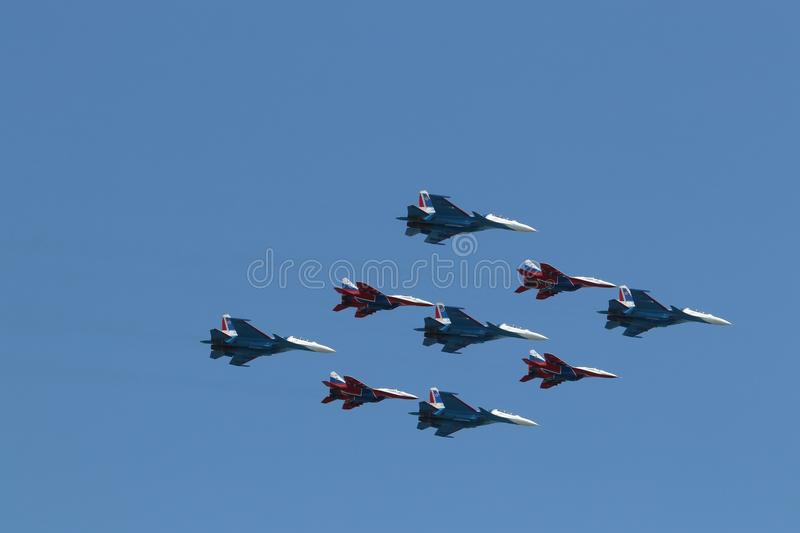 Air Force, Sky, Aircraft, Aviation royalty free stock photo