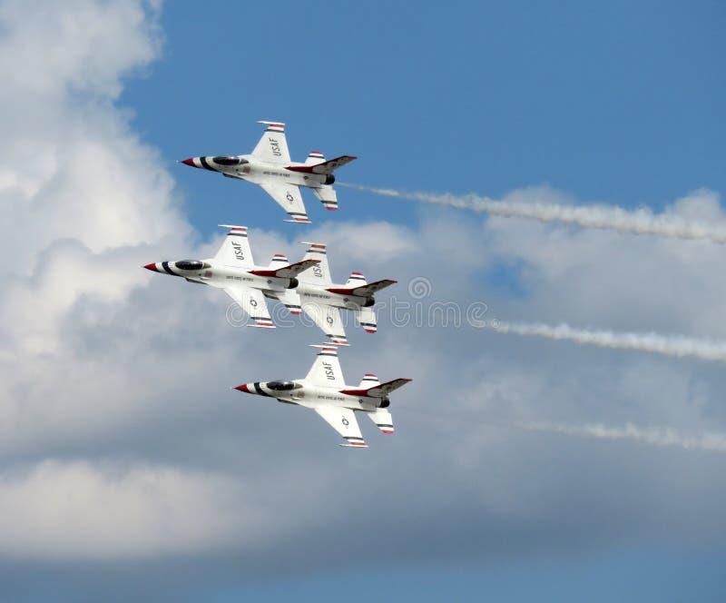 Air Force Thunderbirds in Maryland stock photos