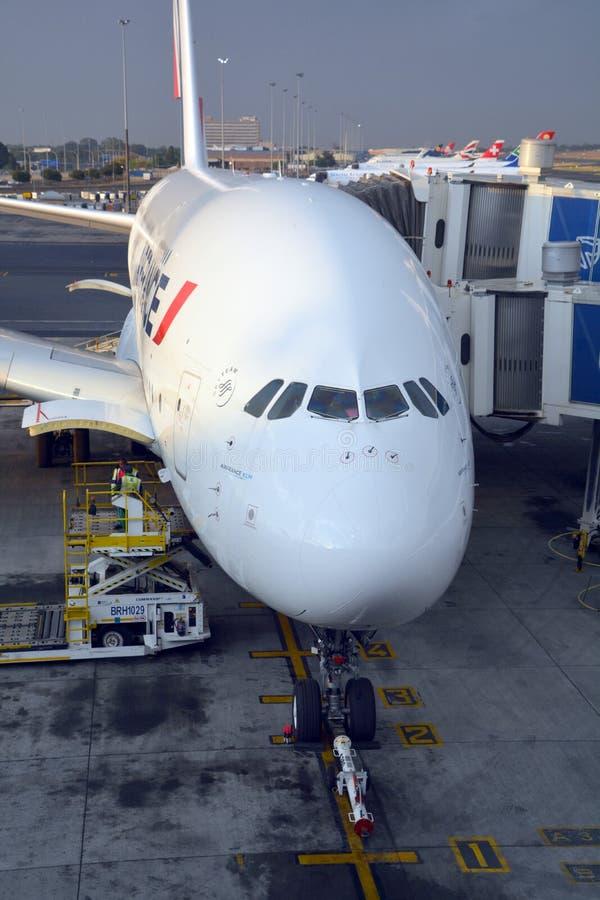 Air France A380 foto de archivo