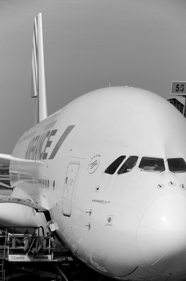 Air France A380 imagen de archivo libre de regalías