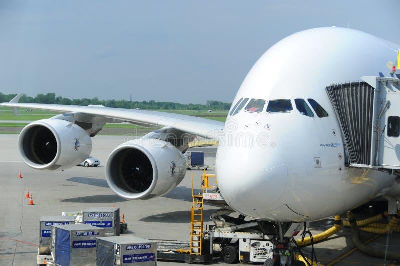 Air France A380 foto de archivo libre de regalías