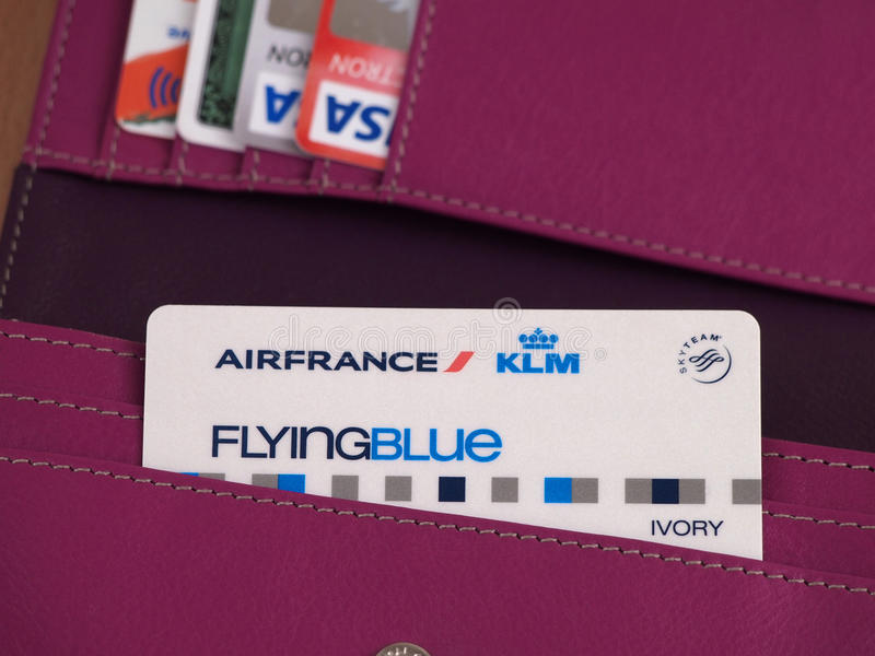 Air France cardent photographie stock