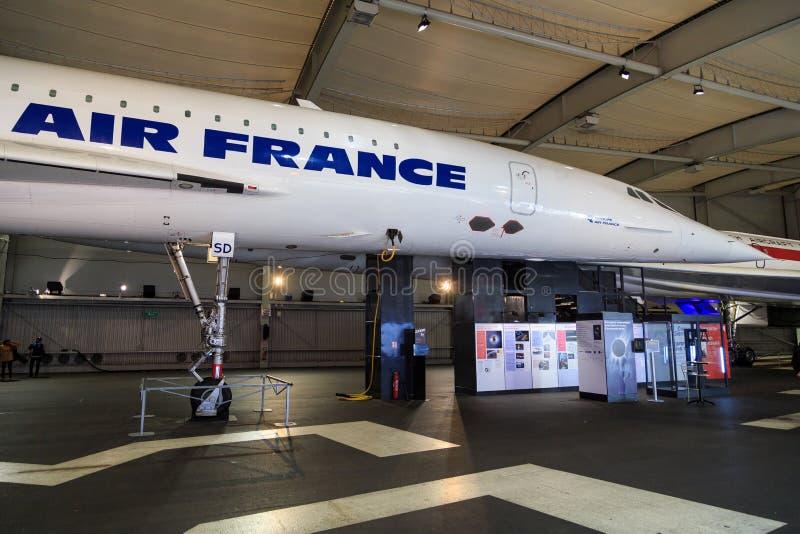 Air France Concorde fotografia stock