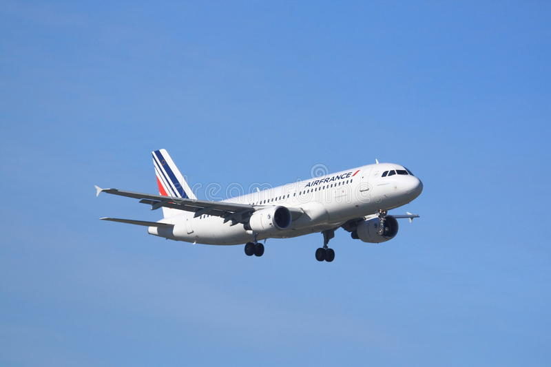 Air France flygbuss A320 arkivbild