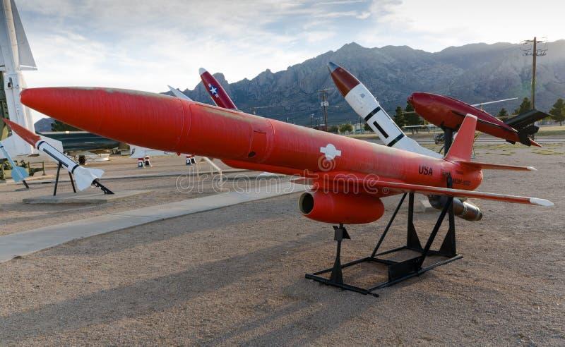 AIR-2 génies - parc de missile - sables blancs, nanomètre image libre de droits