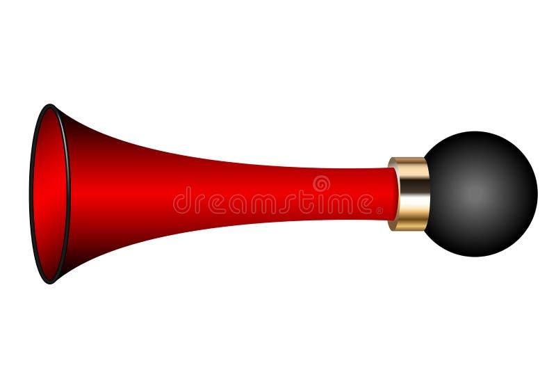 Air horn royalty free illustration