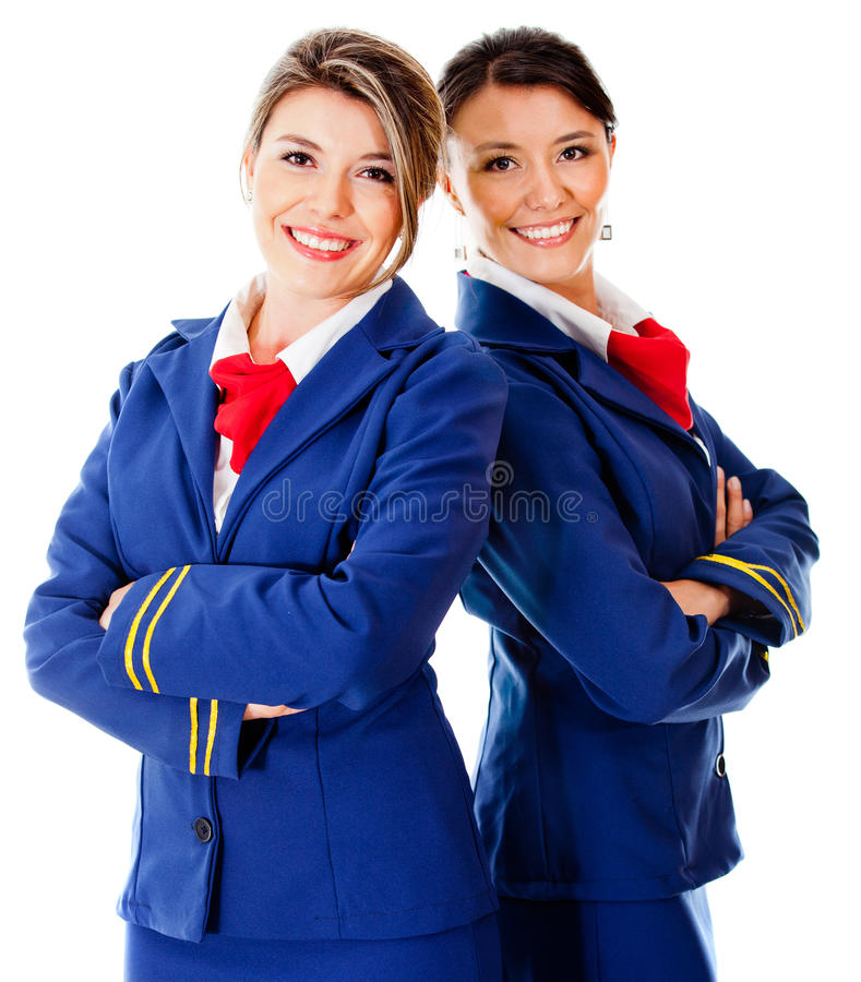 Download Air hostesses stock image. Image of people, adult, airliner - 23643331