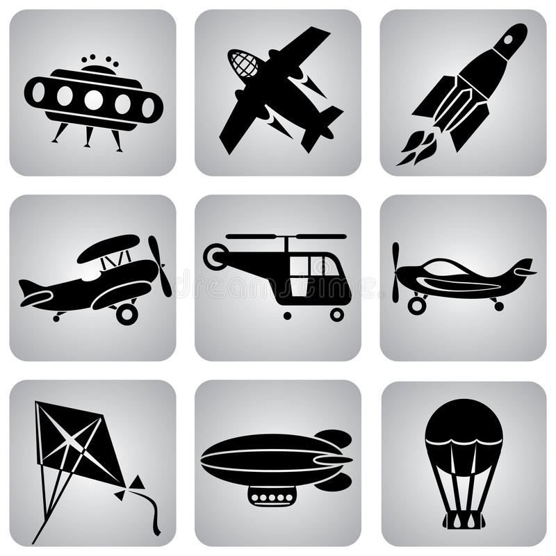 Download Air icons stock vector. Illustration of clip, symbol - 12998218